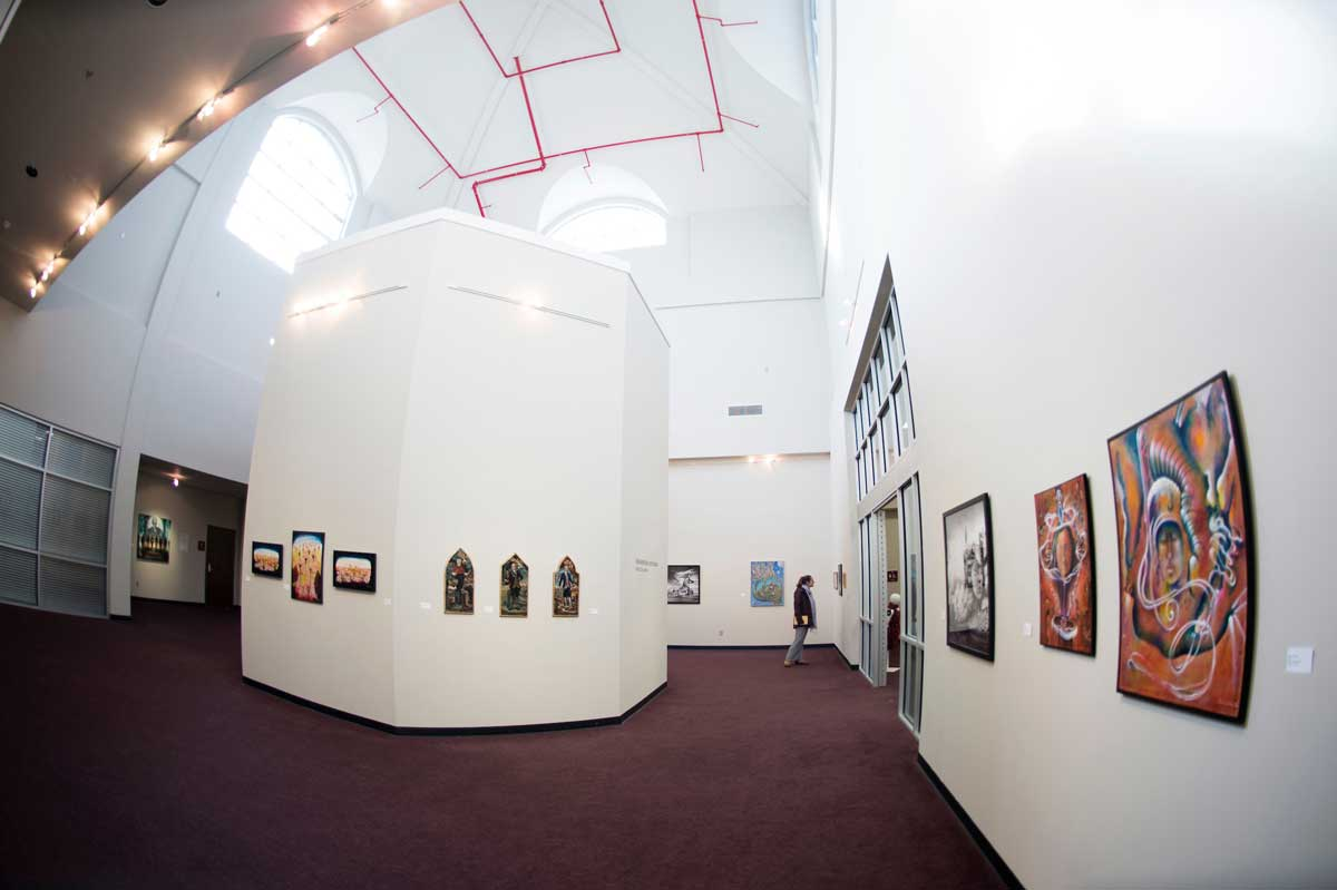 Inside the Cullis Wade Depot gallery
