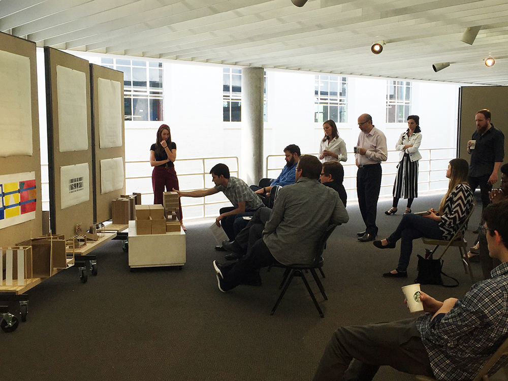 School Of Architecture Holds Final Reviews College Of Architecture Art And Design