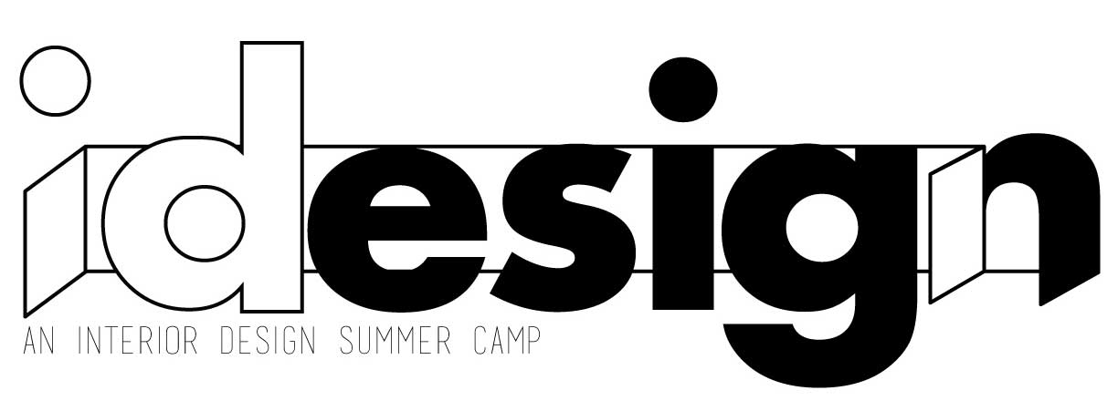 iDesign Summer Camp logo for interior design